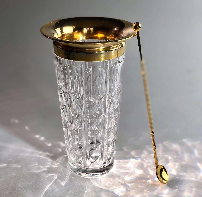 Smart Mid 20th Century cocktail stirring jug