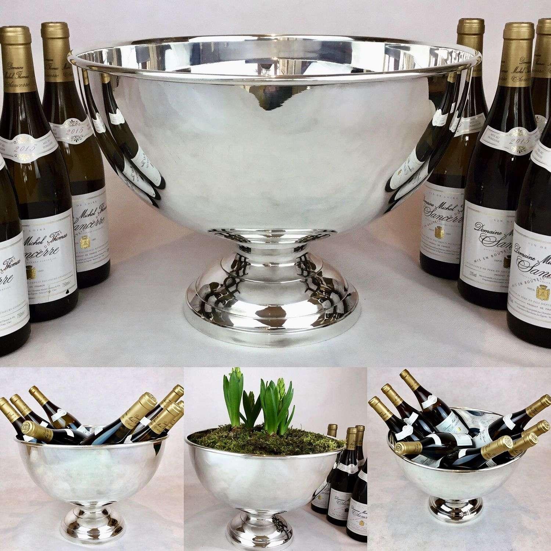 Mappin & Webb wine bath vasque cooler