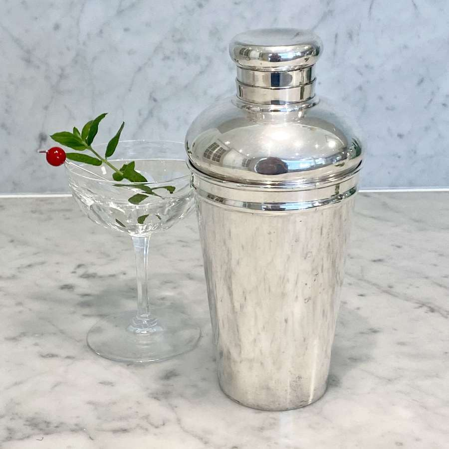Art Deco cocktail shaker by Tiffany & Co, New York