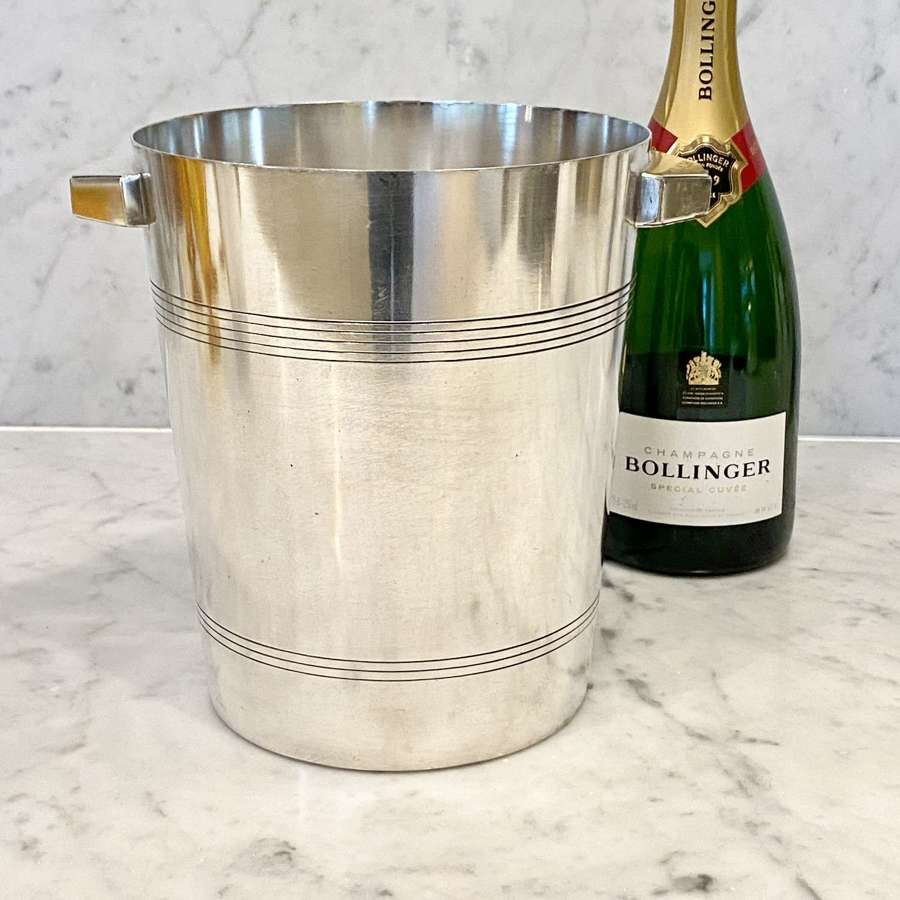 Wiskemann silver plated champagne bucket or cooler
