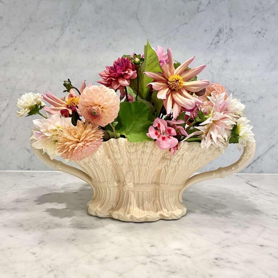 Art Deco Wheatsheaf Mantle vase